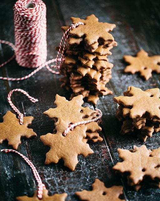 gingerbread ornament cookies