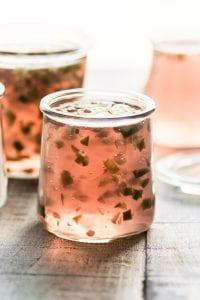 Rosé Wine Hot Pepper Jelly