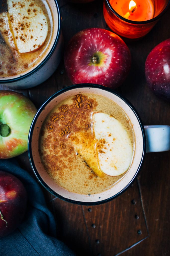 apple chai latte