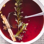 Pomegranate Mulled Cider ~ and my decision to give up alcohol