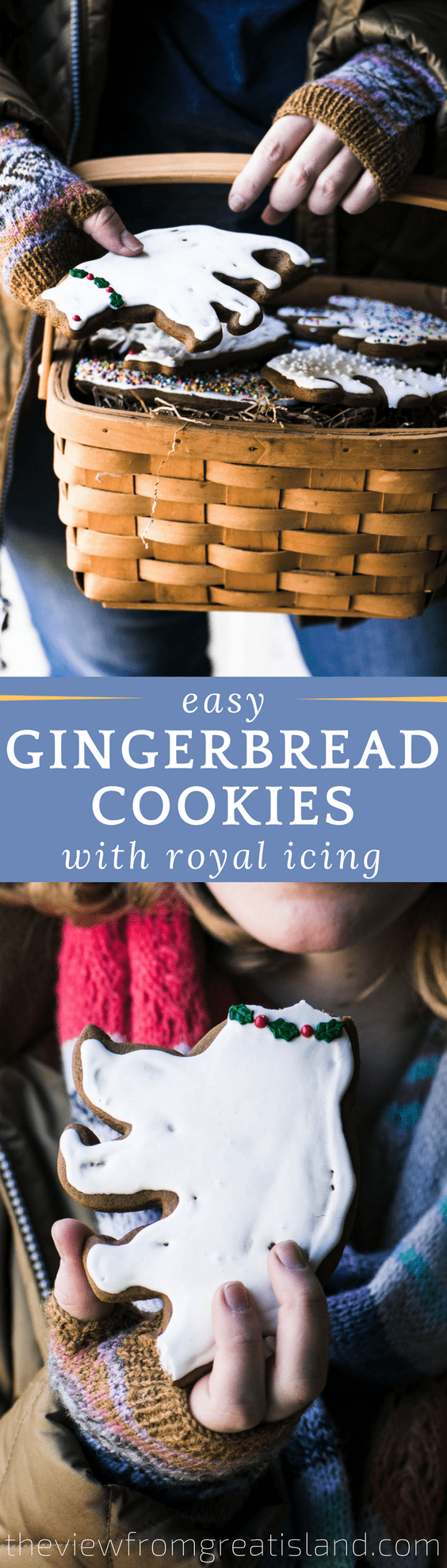 Easy Gingerbread Cookies with Royal Icing ~ it's that time of year and nothing gets me in the mood quicker than baking up a batch of gingerbread cookies! #gingerbread #cookies #Christmascookies #cutoutcookies #holidaycookies #dessert #foodgift #Christmasdessert #bestgingerbread #easygingerbread #gingerbreadrecipe #easyrecipe #royalicing #easyroyalicing #bestroyalicing