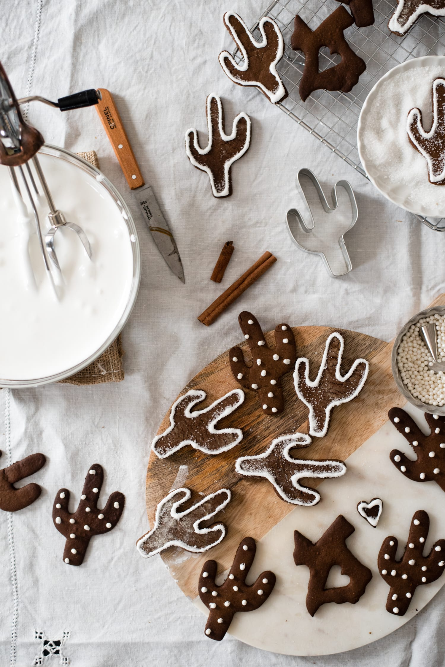 Southwest gingerbread cookies