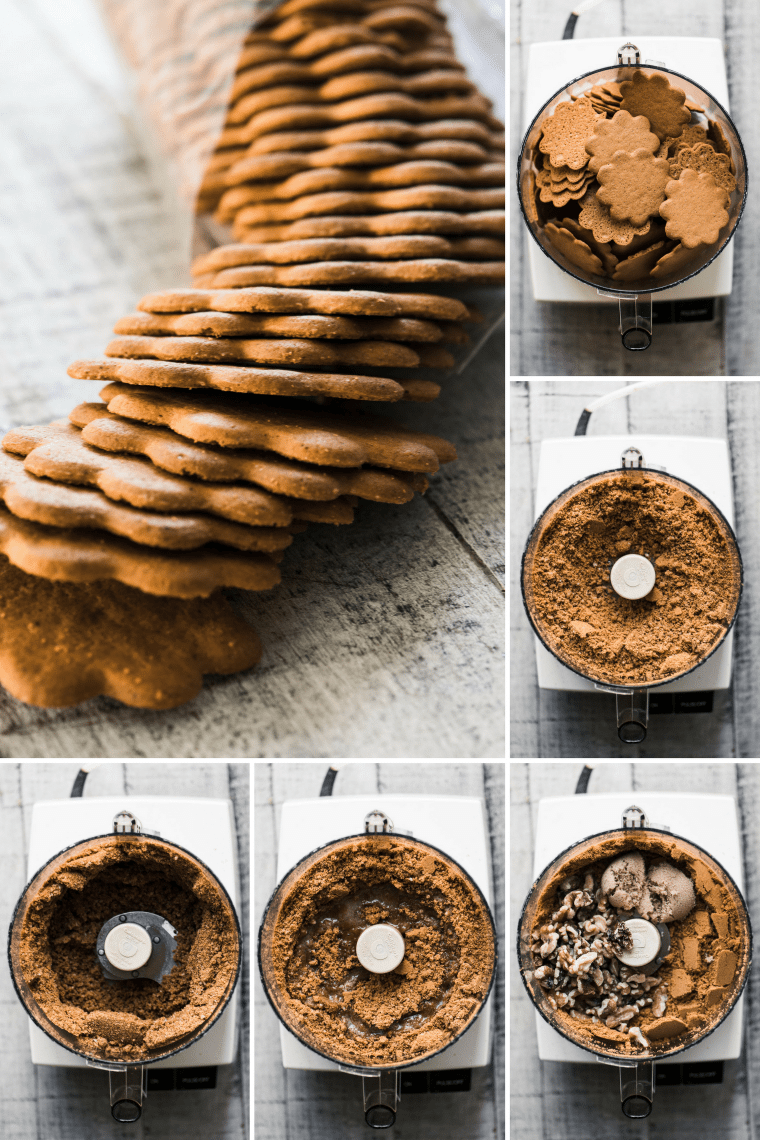 how to make a gingersnap crumb crust