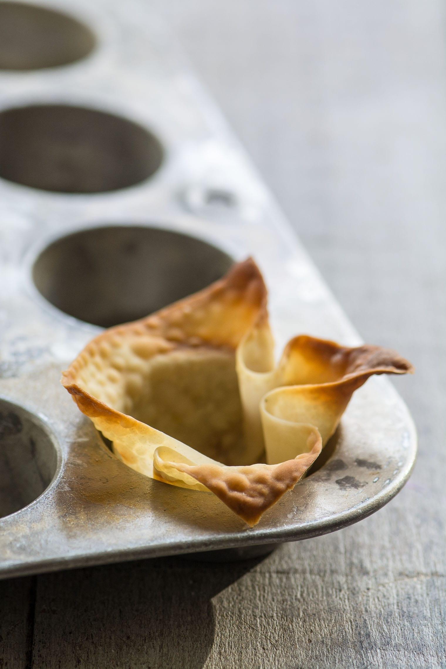 Spicy Tuna Wonton Cups, photo