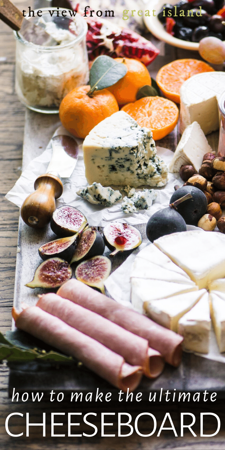 How to Make the Ultimate Cheese Board pin.