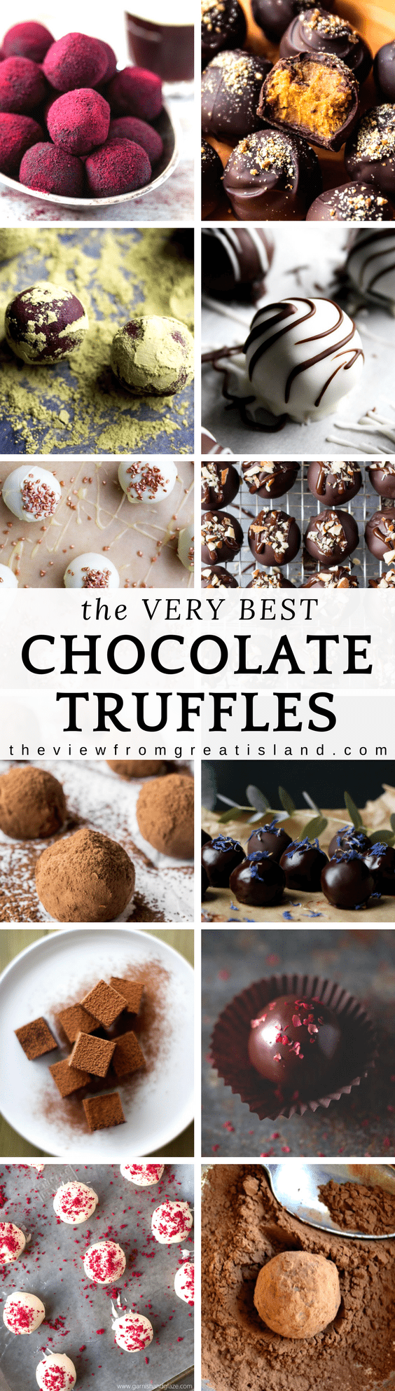 Easy homemade chocolate truffles that anyone can make and everyone loves! Truffles made the perfect gift from your kitchen! #truffles #chocolate #candy #foodgift #easydessert #darkchocolate #whitechocolate #Christmas #holidaydessert #homemadecandy #ganache #trufflerecipe #easytrufflerecipe