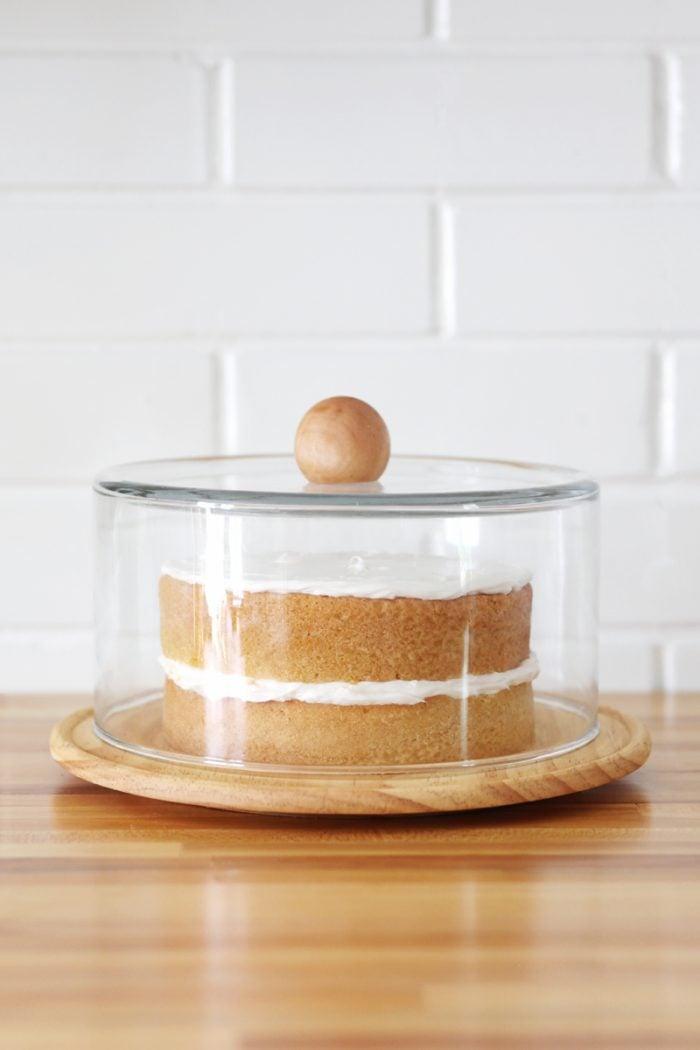 diy cake dome