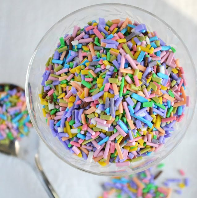 colorful homemade sprinkles