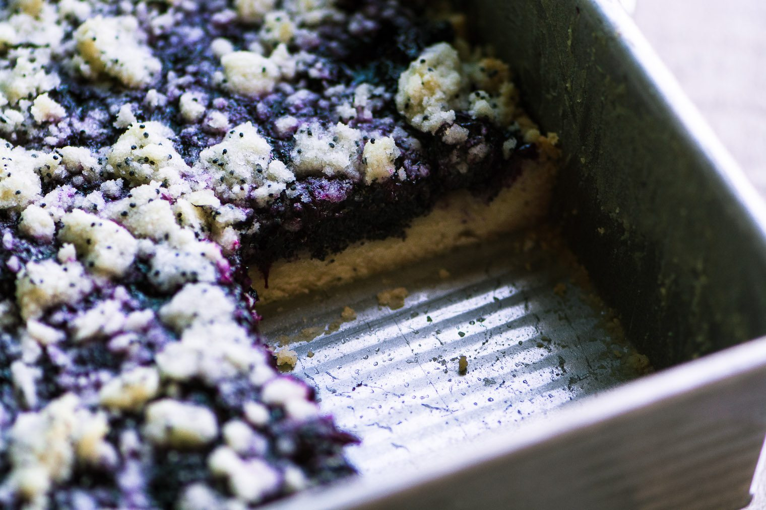 Blueberry Poppy Seed Squares The View From Great Island