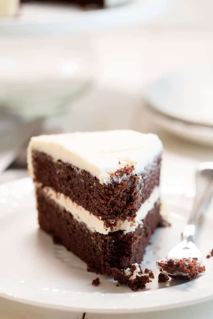 gluten free devil's food cake