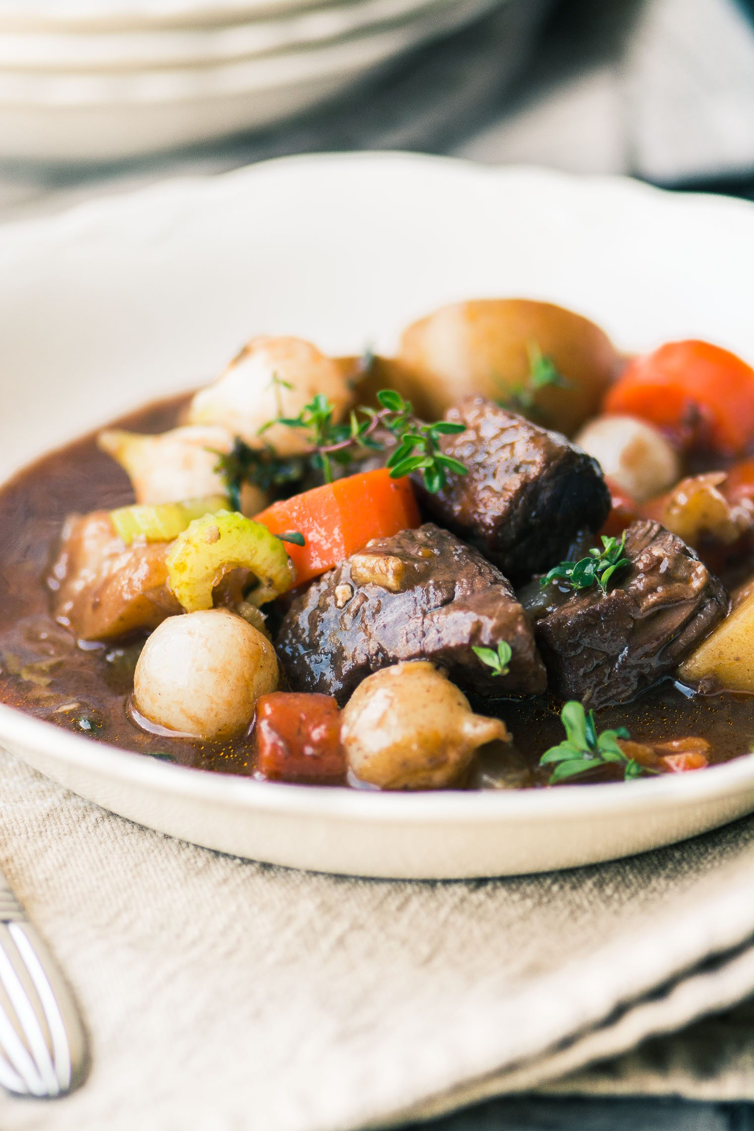 how to make beef bourguignon in instant pot