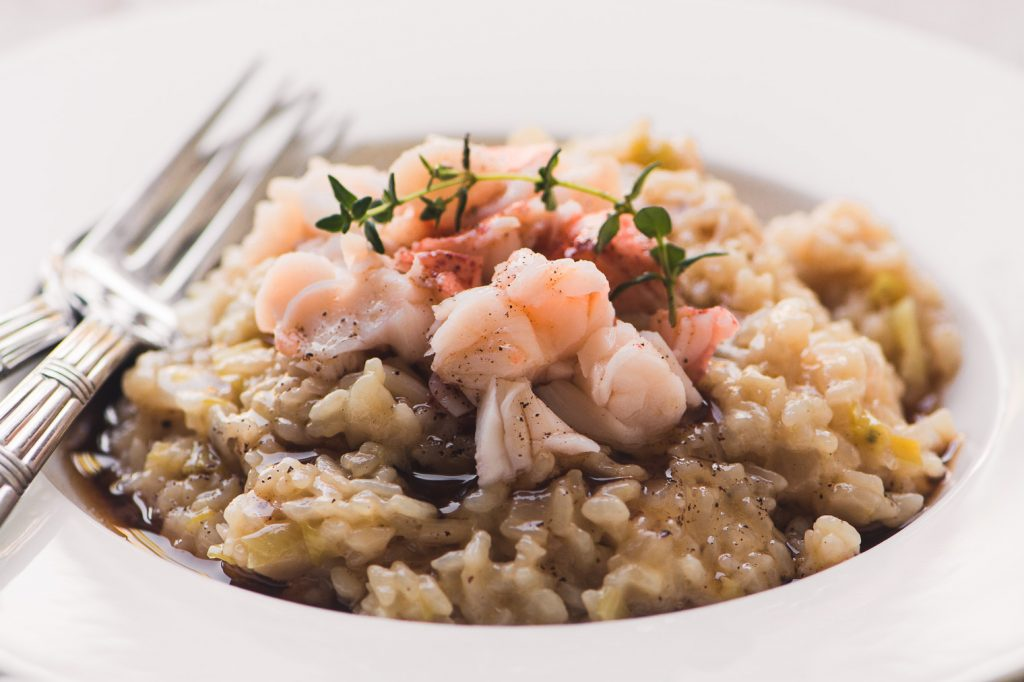6 Minute Instant Pot Lobster Risotto