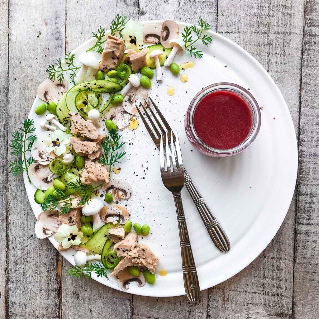 Pretty Plated Tuna Salad