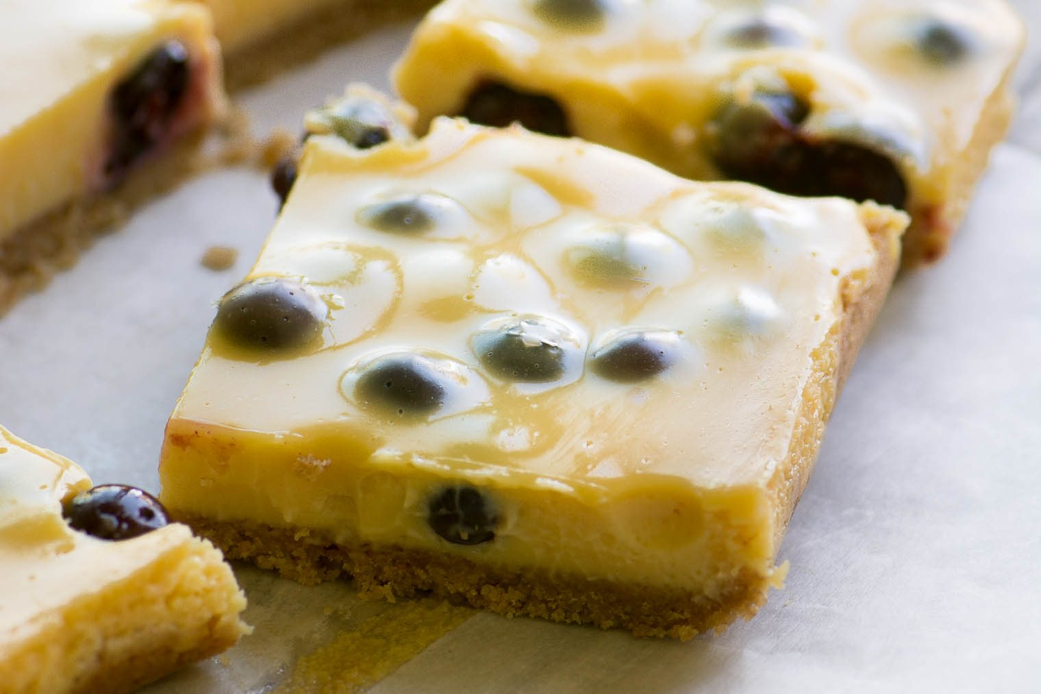 Blueberry Lemon Bars | The View from Great Island