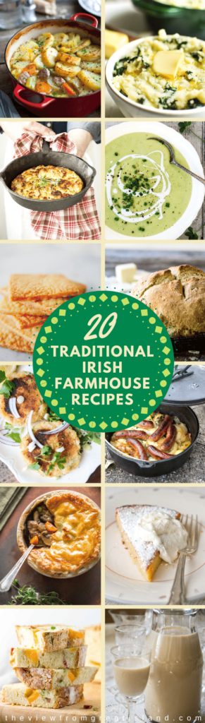 Irish farmhouse recipes pin