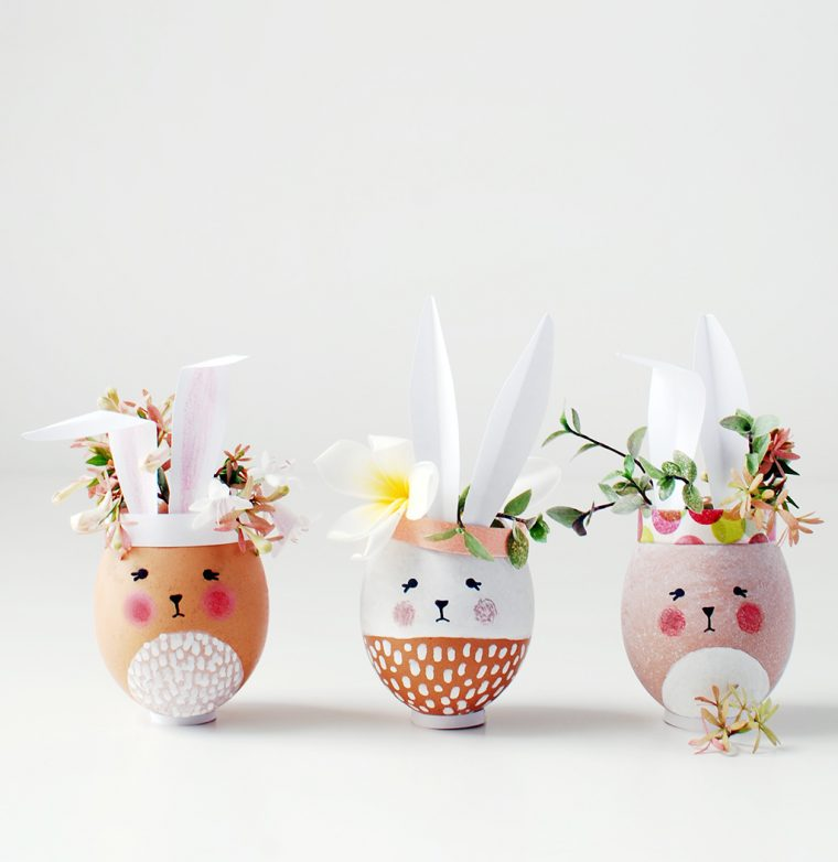 Easter egg bud vases and seed starter tutorial the view from great island Bricolage paques idees deco maison