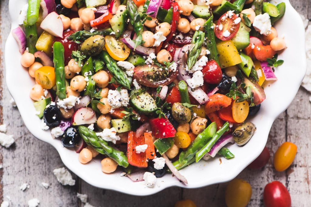 Chopped Asparagus Salad