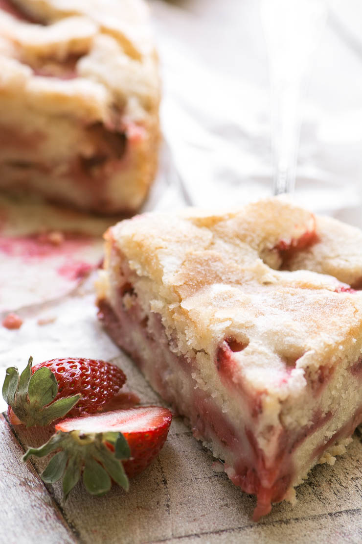 TVFGI's 10 Most Popular Summer Receipes ~ Buttermilk Strawberry Cake