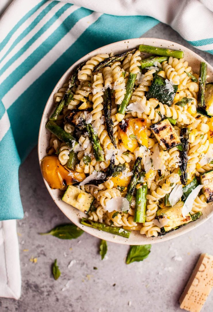 Grilled Summer Vegetable Pasta Salad