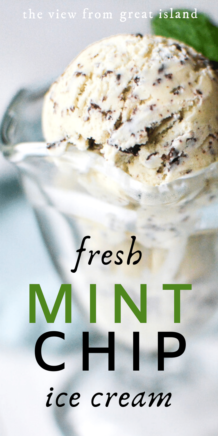 Mint chip ice cream pin.