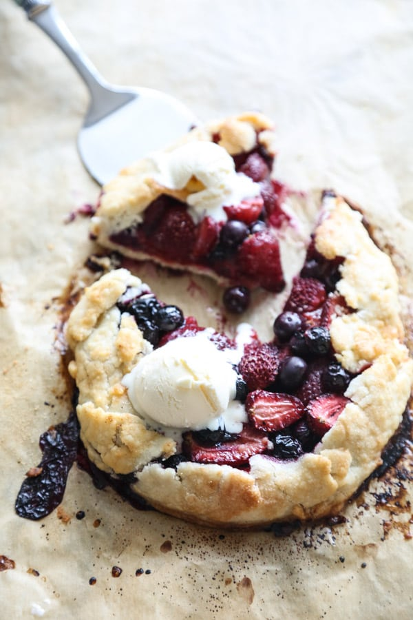 RED WHITE AND BLUE RECIPES YOU ACTUALLY WANT TO EAT!  Berry Galettes