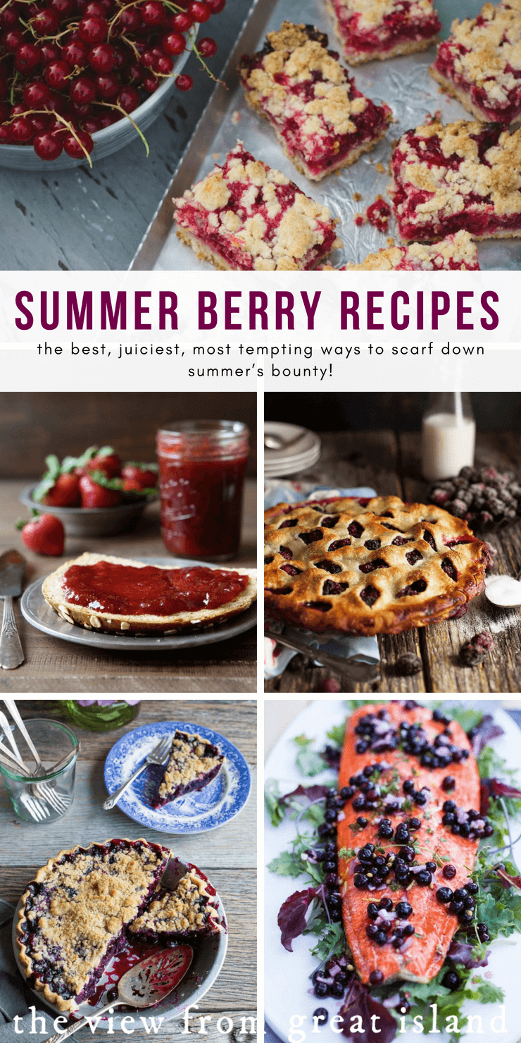 Summer's Best Berry Recipes pin