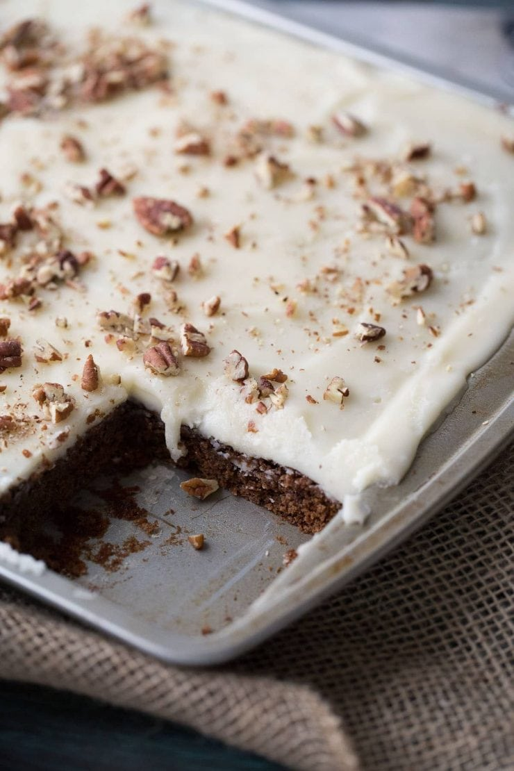 Banana Slab Cake Recipe