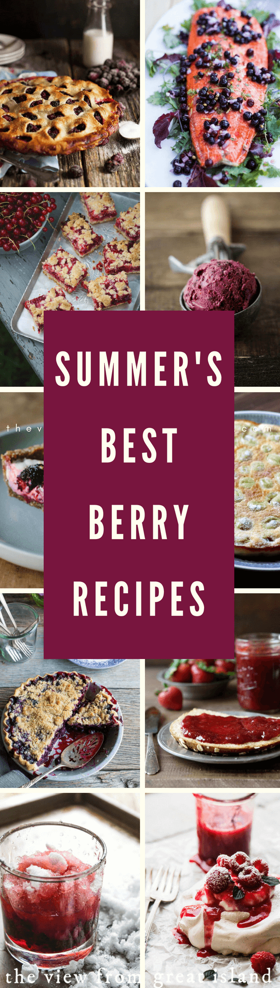 Summer's Best Berry Recipes ~ you've got berries, and I've got the recipes! From strawberries and blueberries to huckleberries, and beyond. #fruit #dessert #berries #strawberries #blackberries #blueberries #huckleberries #raspberries #ollalieberries #blackraspberries