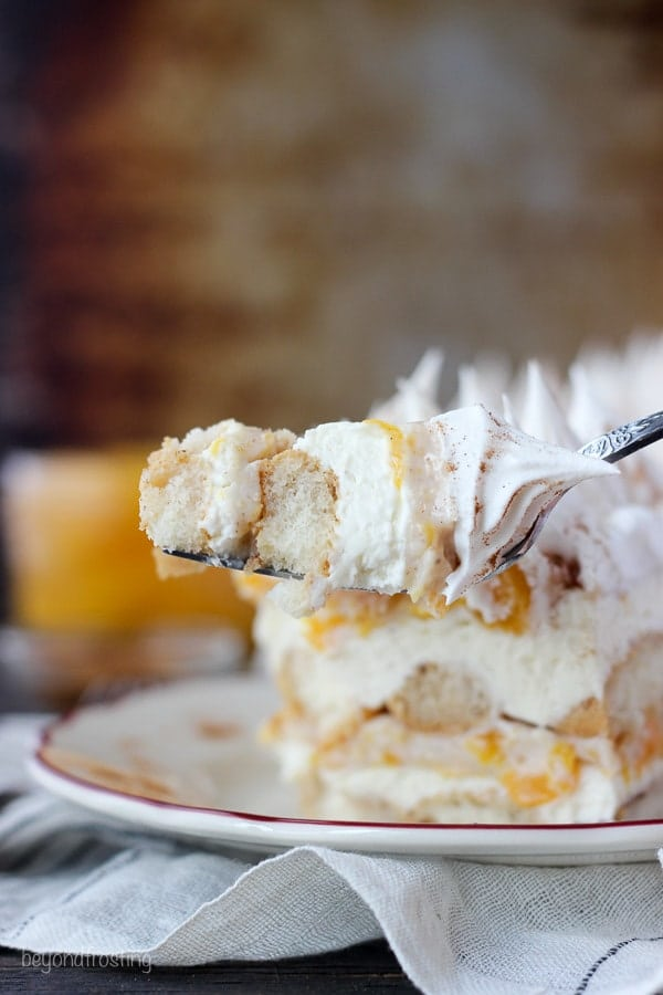 Summer's Best Icebox Cakes ~ no bake peach icebox cake