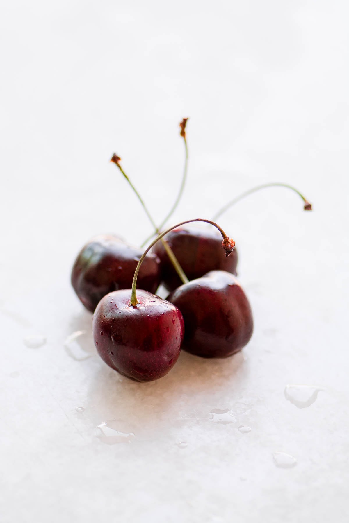 fresh cherries for whitefish with cherry salsa