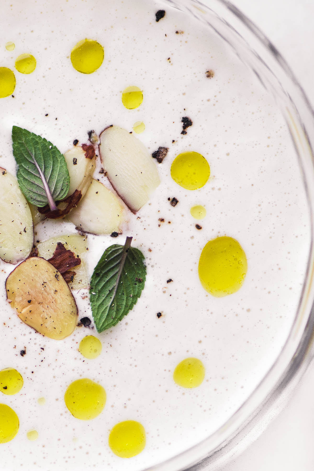 Spanish Chilled Almond Soup