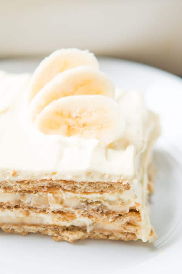 Summer's best icebox cakes ~ Banana Cream Icebox Cake