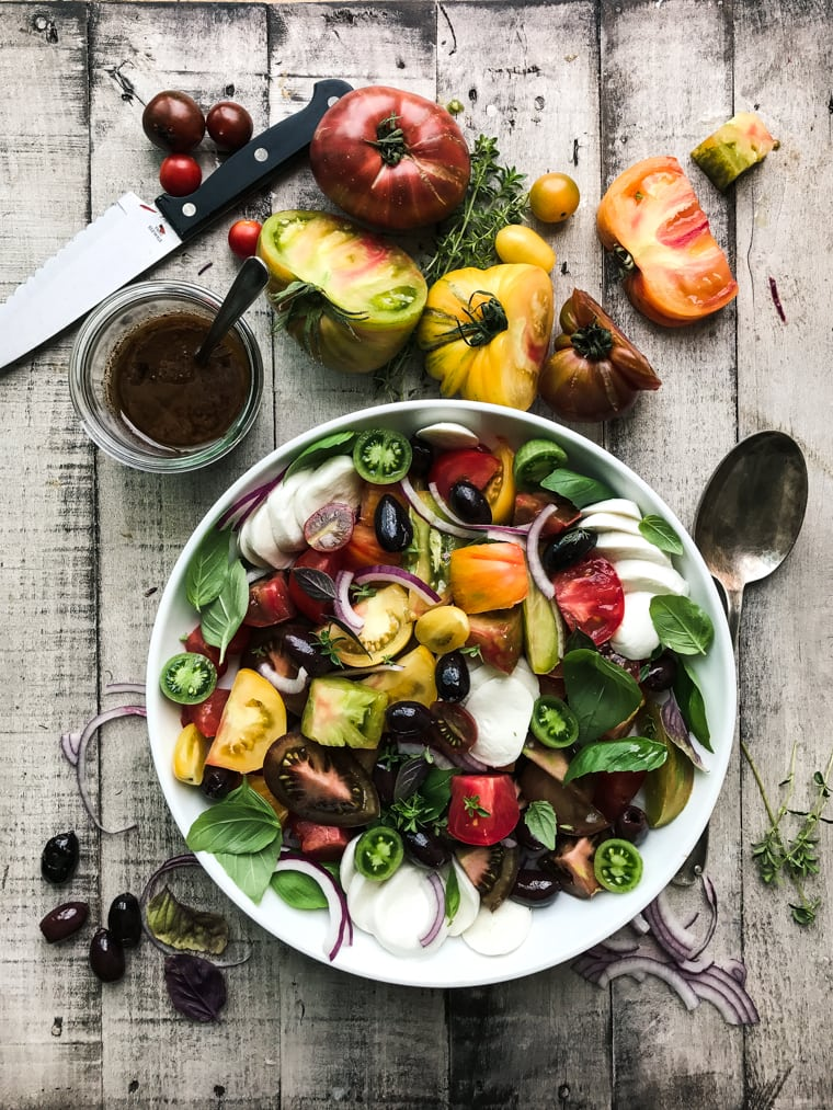 photo Falafel with Cucumber-Tomato Salad