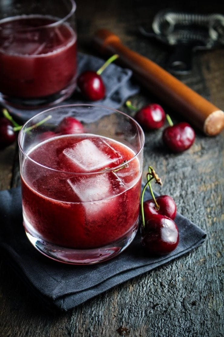 What to Eat Now: Cherries! Cherry Cocktail