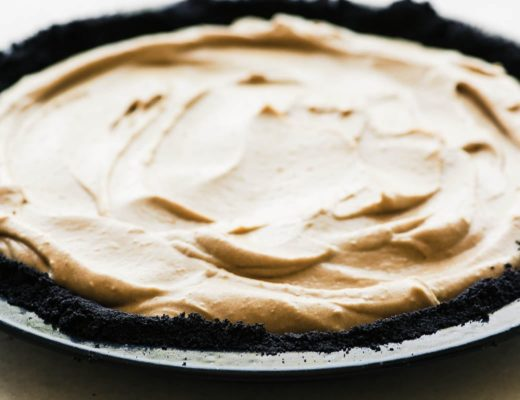 cold brew icebox pie