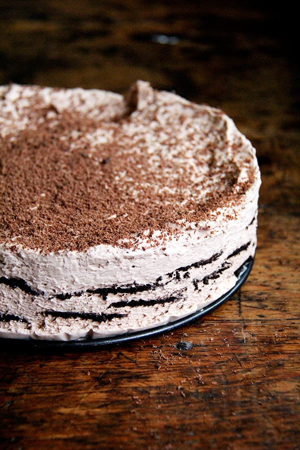 Summer's best icebox cakes ~ chocolate espresso icebox cake