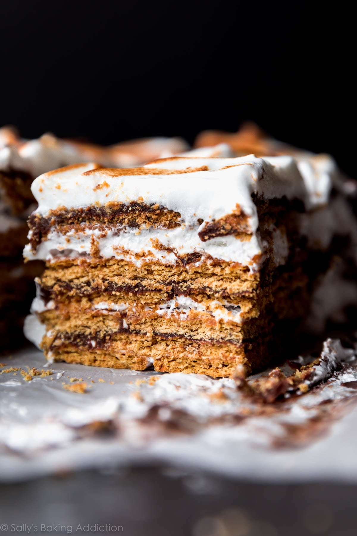 Summer's Best Icebox Cakes ~ no-bake s'mores cake
