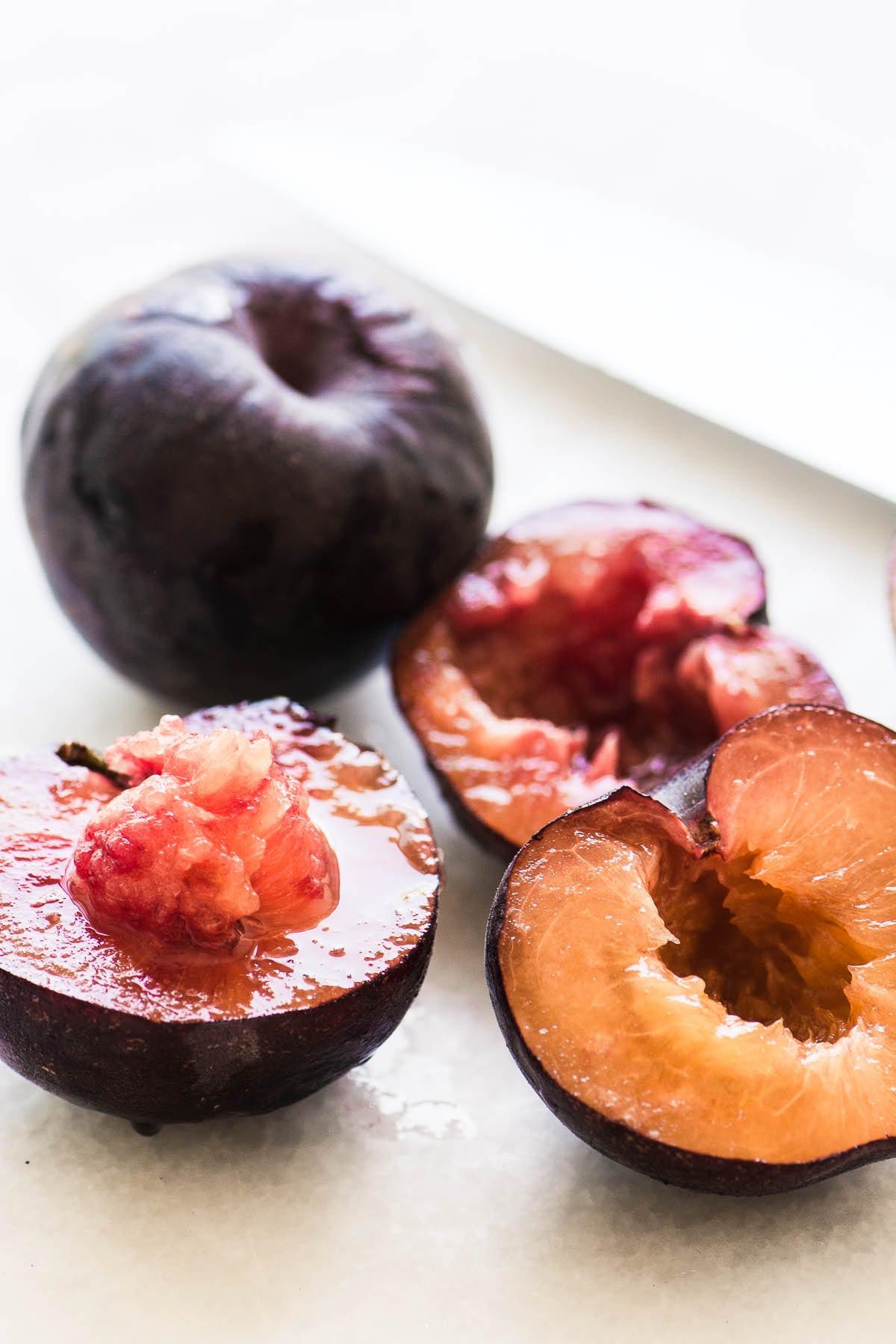 black velvet apricots for Apricot Gazpacho