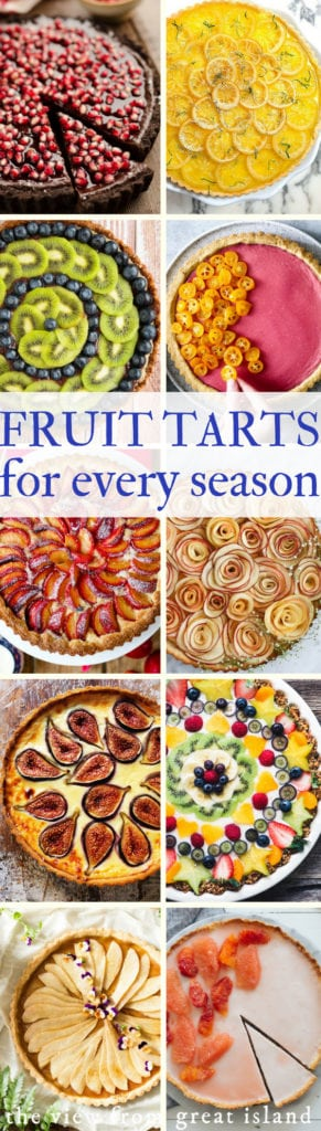 A collection of fruit tart recipes for all seasons