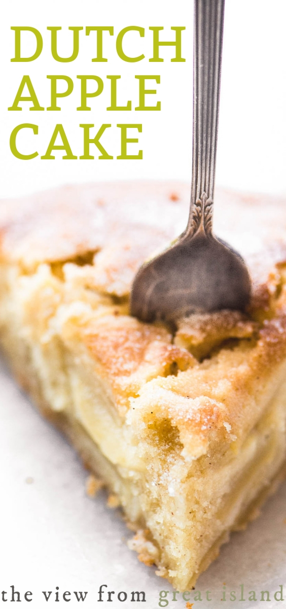 Dutch apple cake pin
