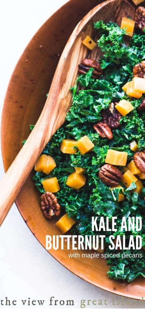 kale salad pin