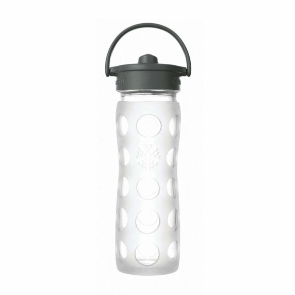 Lifefactory straw top glass water bottle