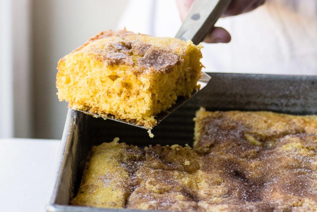 Super Easy Cinnamon Coffee Cake