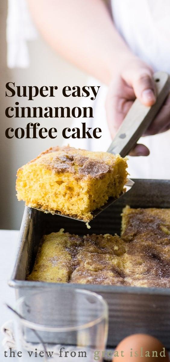 easy cinnamon coffee cake pin