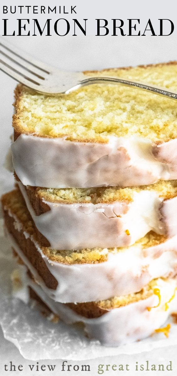 buttermilk lemon bread pin