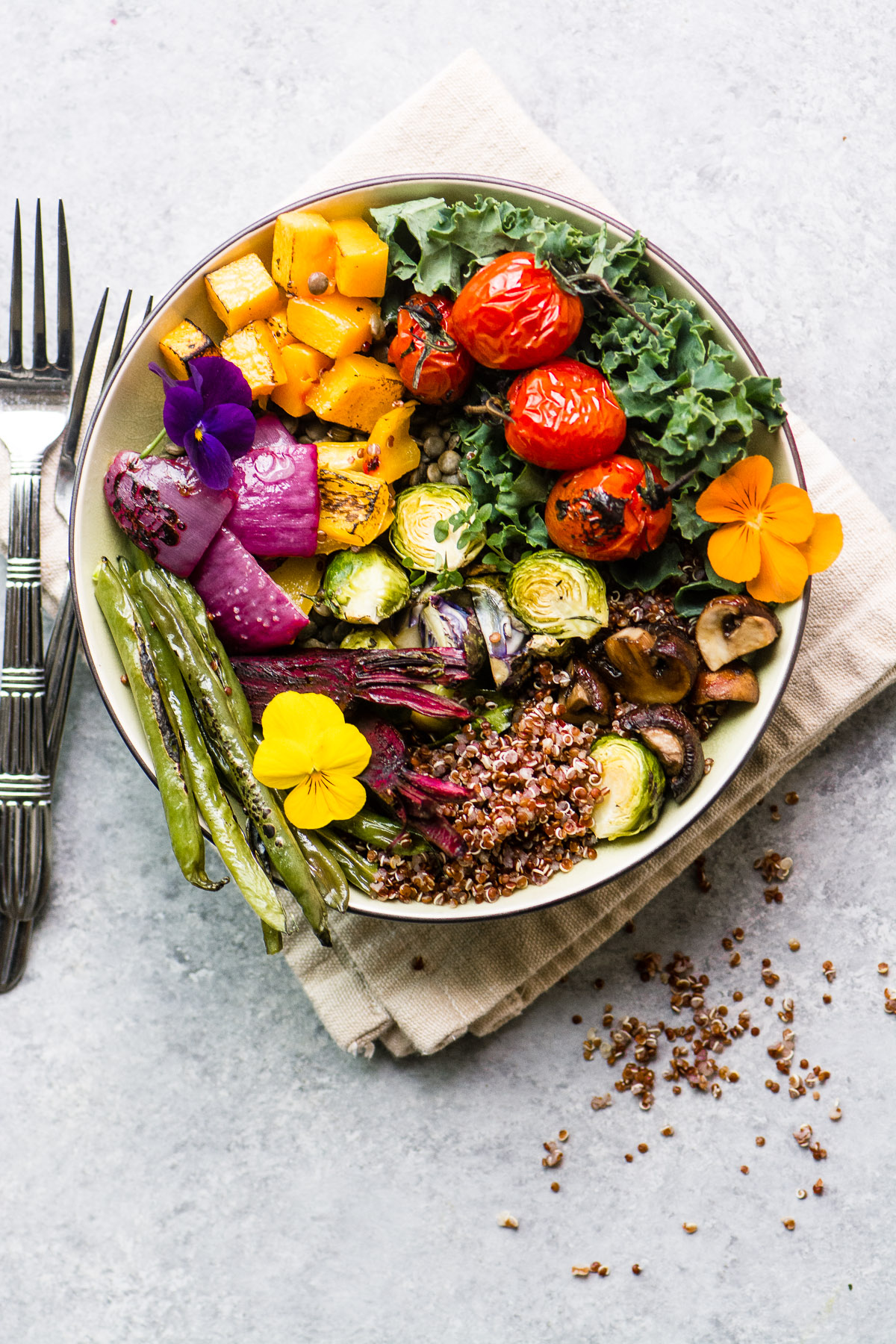 Roasted Vegetable Winter Bliss Bowl