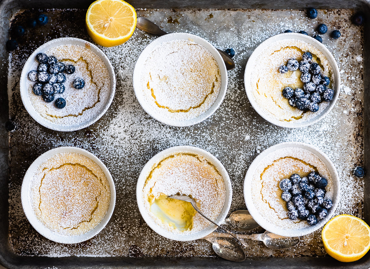 gluten free lemon pudding cake recipe