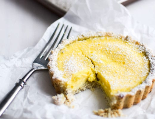 Lemon poppy seed mini tarts