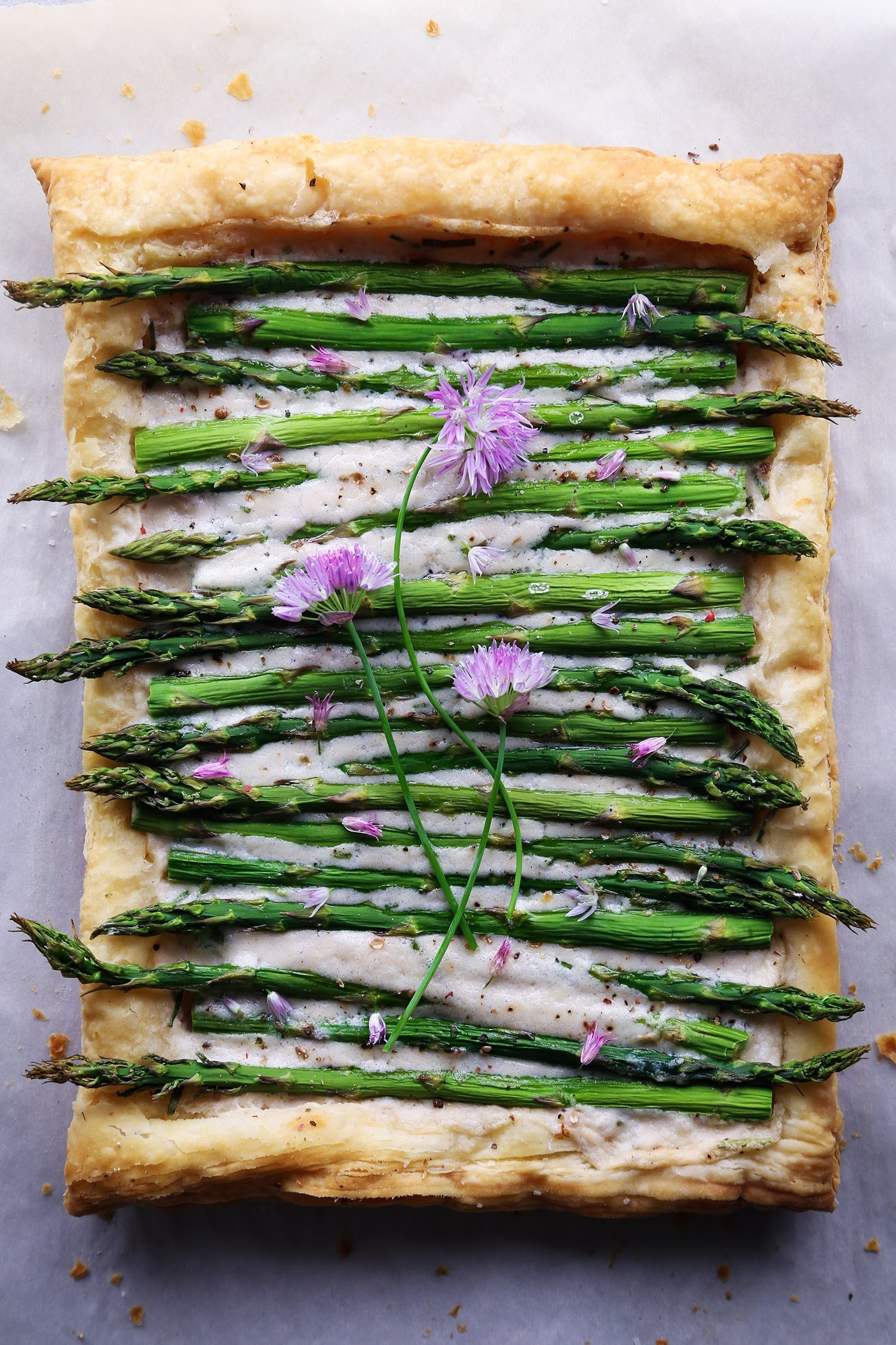 Simple Asparagus Tart