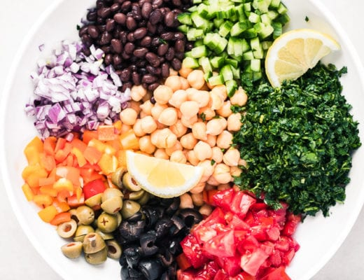 Balelea Salad, Middle Eastern Chickpea Salad